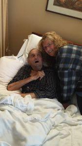 Michelle and Grandpa